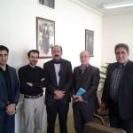 دیدار اعضای انجمن صنفی مدیران مسئول مطبوعات یزد با مدیر کل صداوسیمای مرکز یزد