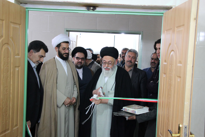 کتابخانه مسجد حضرت علی بن ابیطالب(ع) یزد افتتاح شد