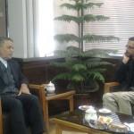 مدیر کل صداوسیما با استاندار یزد دیدار کرد