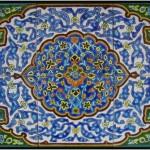 کاشی هفت رنگ زینت بخش مساجد تاریخی یزد