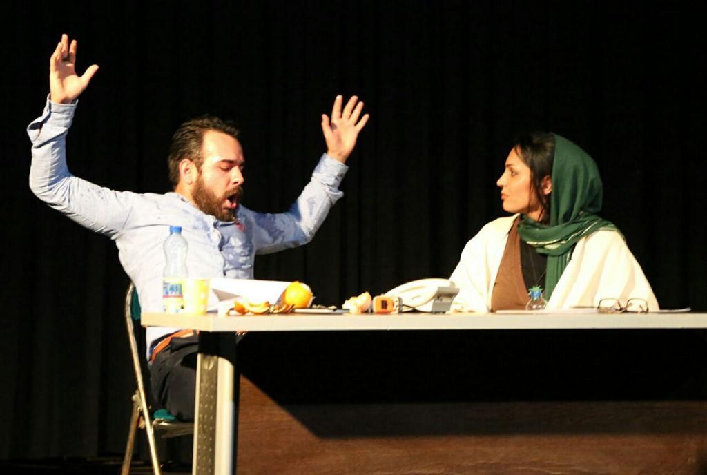 نمایش «جیG» به کارگردانی«صادق نصیری»