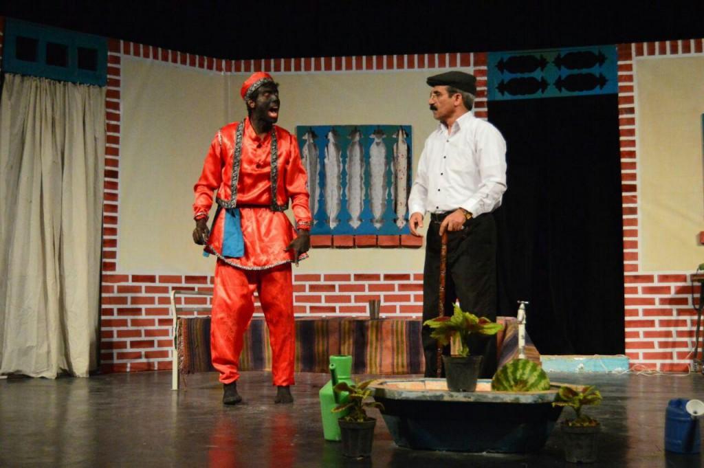 نمایش کمدی «رام کردن مرد سرکش» در تالار شرف الدین علی