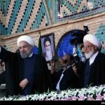 گزارش تصویری (1) – سفر رئیس جمهور به یزد – اسفند 94
