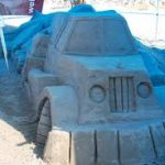 نخستین سمپوزیوم ملی ساخت مجسمههای شنی در بافق