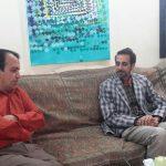 دیدار مدیر کل صدا و سیمای یزد  با  پایه گذار نقاشیخط بعنوان یک رشته دانشگاهی