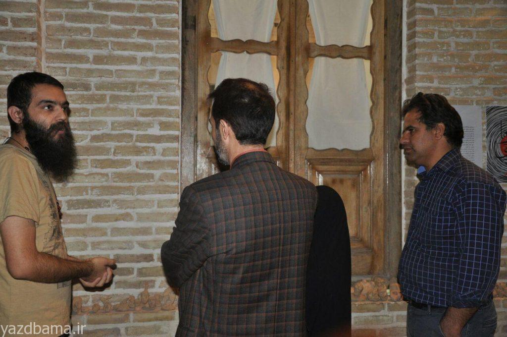 بازدید مدیر کل صدا و سیمای مرکز یزد از موزه گنجینه هنر