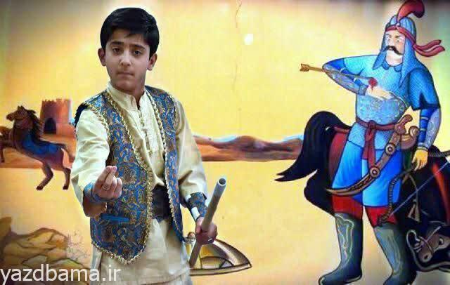 راهیابی نقال نوجوان یزدی به مرحله رقابتی جشنواره نقشا