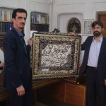 تجلیل از مدیر سابق مرکز اسناد و کتابخانه ملی استان یزد